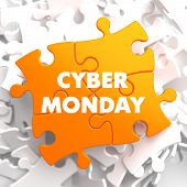 Cyber Monday on Yellow Puzzle.