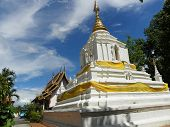 Pagoda of wat changkam temple