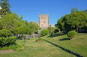 Norman Castle and Public Garden in Adrano, Sicily