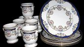 foto of crockery  - kitchen objects or plats made of crockery