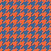 stock photo of tartan plaid  - Houndstooth vector tile pattern - JPG