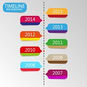 Illustration timeless color template