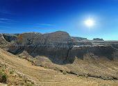 Panorama Of The Plateau Shalkar-nura