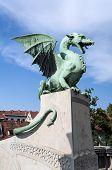 Dragon Bridge, Ljubljana.