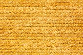 Yellow Wicker Plaiting