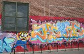 Graffiti at East Williamsburg in Brooklyn