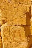 Hieroglyph in Egypt