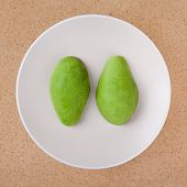 Peeled Avocado