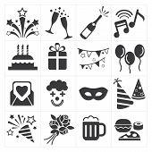 icon party celebrate