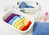 Wash Colored Rainbow Laundry