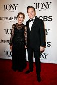 NEW YORK-JUNE 8: Actor Bryan Cranston (R) and wife Robin Dearden attend American Theatre Wing's 68th