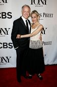 NEW YORK-JUNE 8: Actors Reed Birney (L) and Constance Shulman attend American Theatre Wing's 68th An