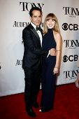 NEW YORK-JUNE 8: Actor Tony Shalhoub and daughter Josie Lynn Adams attend American Theatre Wing's 68