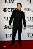 NEW YORK-JUNE 8: Actor Andy Karl attends American Theatre Wing's 68th Annual Tony Awards at Radio Ci