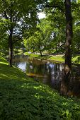 Bastion Hill Park In Riga