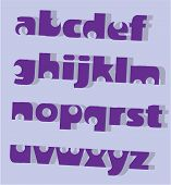 Letters small design