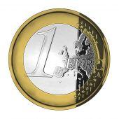 One Shiny Euro Coin