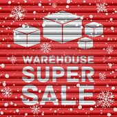 Winter warehouse super sale