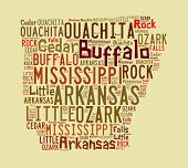 Arkansas Word Cloud