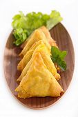 stock photo of samosa  - samosa - JPG