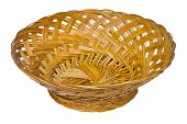 Basket from bamboo