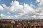 Overview Of Garbatella District In Rome