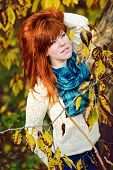 Redhead Young Woman