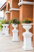 Pedestal Flower Stand