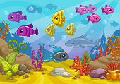 picture of game-fish  - Sea world - JPG