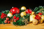 old fashioned antique christmas decoration