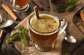 Homemade Hot Buttered Rum