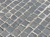 cobblestone texture close up