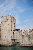 Scaliger Castle, Sirmione, Garda Lake, Italy
