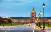 Les Invalides Building In Paris