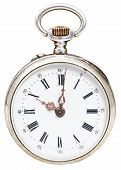 Ten O'clock On Dial Of Retro Watch