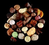 Assortment of special chocolates