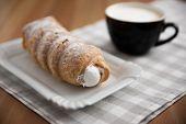 cream horn pastries
