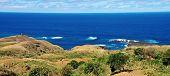 Volcanic Peninsula Landscape