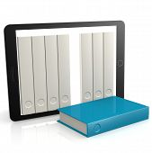Blue Book Out Of Tablet