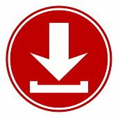 Arrow Download Button