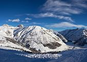 Winter Time In Alps
