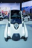 Toyota I-road On Display