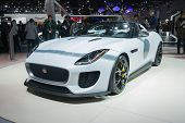 Jaguar Project 7 Car 2016 On Display