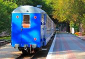 station of childish railway in Kharkov