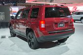 Jeep Patriot 2015 On Display