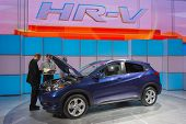 Honda Hr-v Crossover  On Display