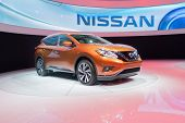 Nissan Murano Concept 2015 On Display
