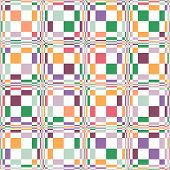 abstract color rectangle seamless pattern