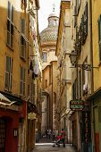 Old Town Of Nice, Narrow Street, France