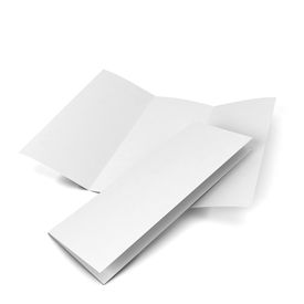 picture of pamphlet  - Blank brochure - JPG